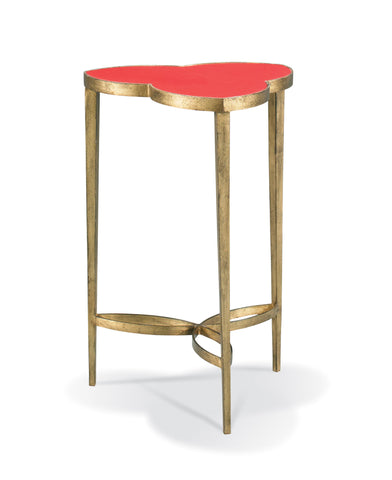 Cloverleaf Table- Red