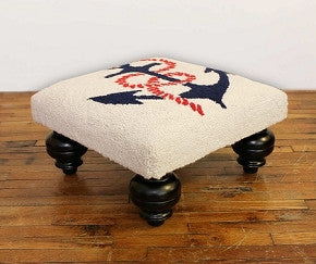 Anchor's Away Hooked Foot Stool