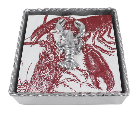 Lobster Twist Napkin Box