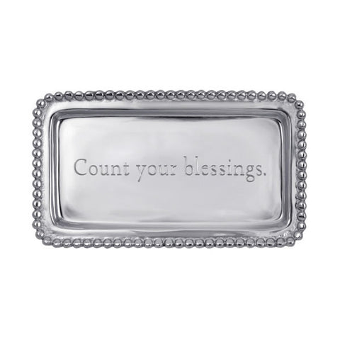 'Count Your Blessings' Tray