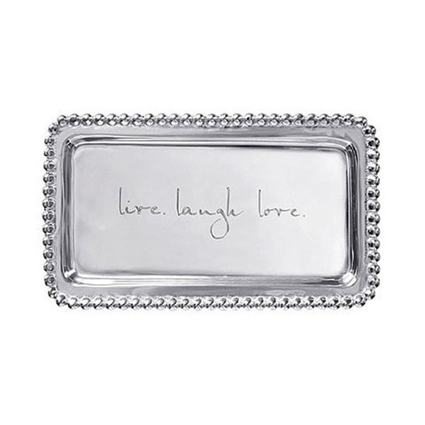 'Live Laugh Love' Tray