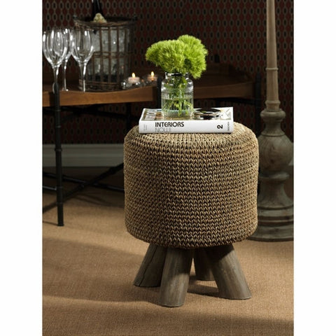 Barclay Butera Equestrian Collection Woven Foot Stool