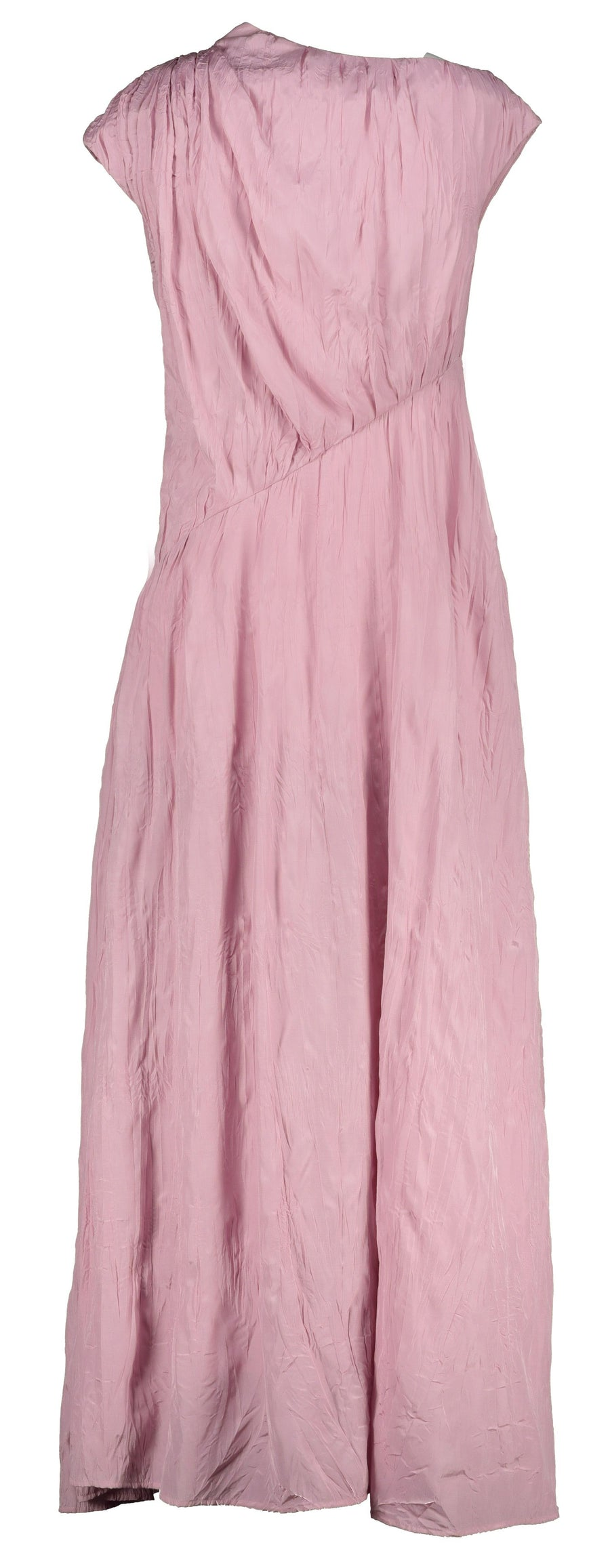 Irada pink chiffon dress