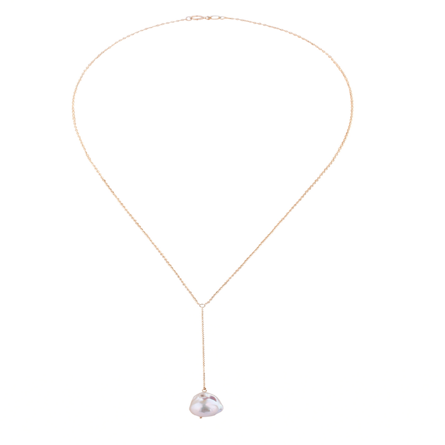 Robina Long Baroque Pearl Necklace