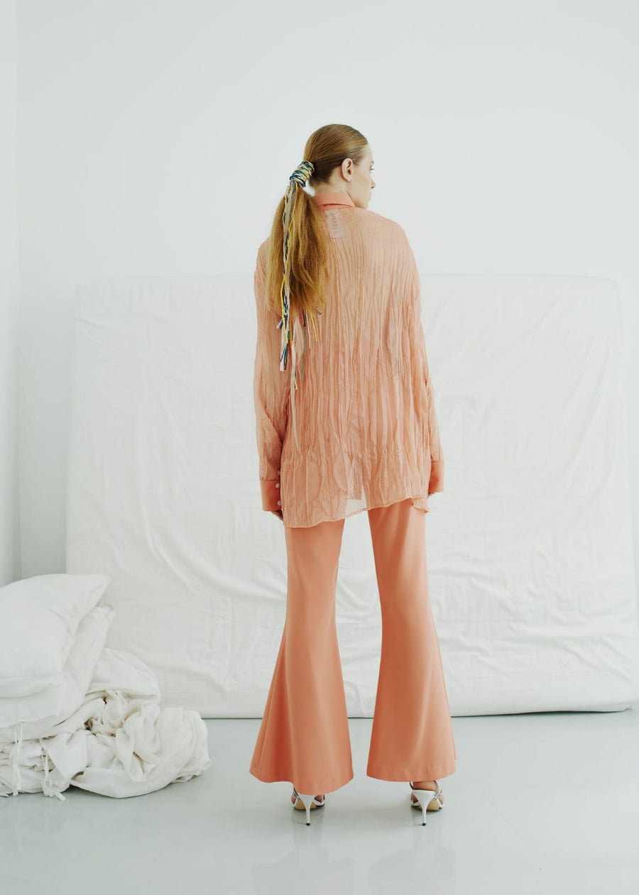 Irada peach suit
