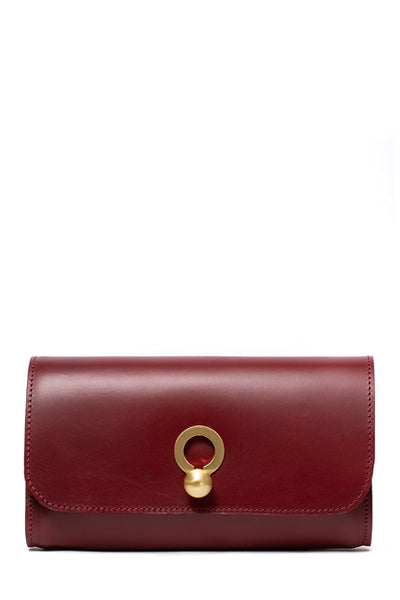 Kati Clutch | Burgundy