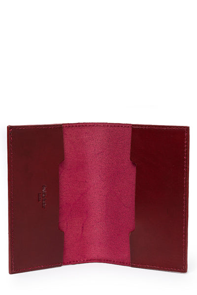 Passport Holder | Burgundy