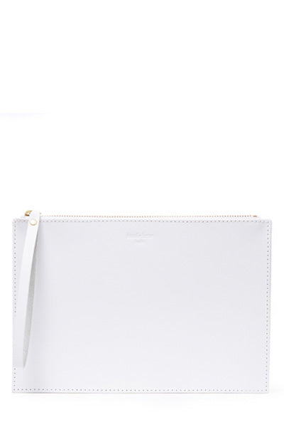 Frankie Clutch | White