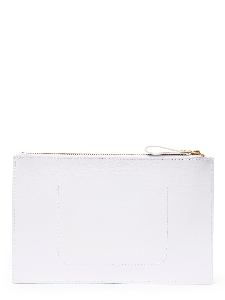 Small Pouch | White