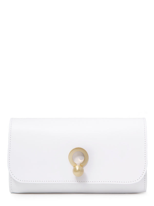 Katie Clutch | White