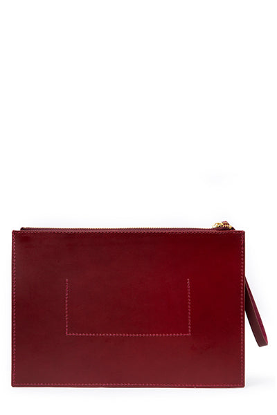 Frankie Clutch | Burgundy