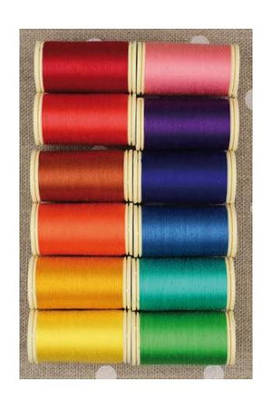 Assortment of Cotton Sewing threads (Brights)