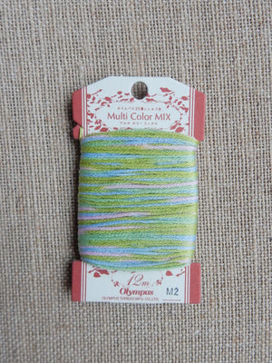 Stranded Cotton Overdyed Thread M2