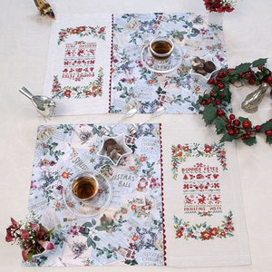 Christmas Sampler Table Mats