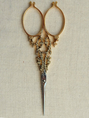 #50 Scissors Gold Plated