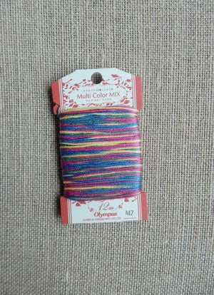 Stranded Cotton Overdyed Thread M7