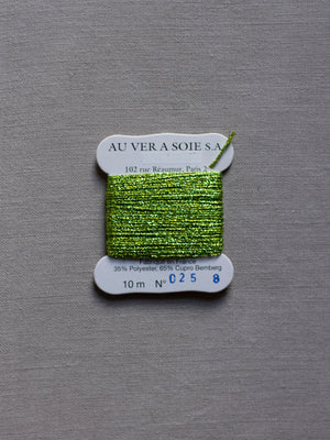Metallic - #8 - Color #0025 (Lime Green)