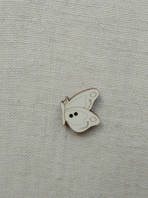 Alighting Butterfly Button