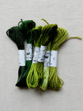 Soie d'Alger pack (greens)