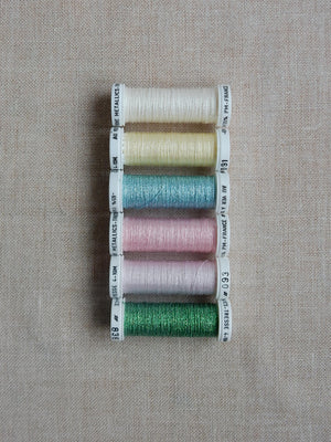 Metallic thread set - Pastel