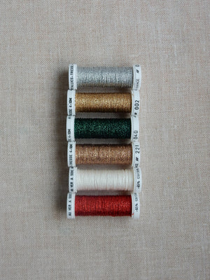 Metallic thread set- Noel
