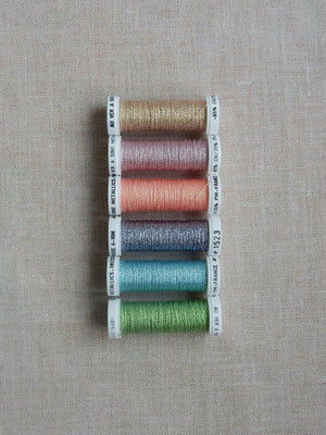 Metallic thread set - Spring