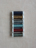 Metallic thread set- Mixed color dark