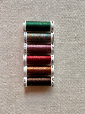 Metallic thread set - Antique Bright