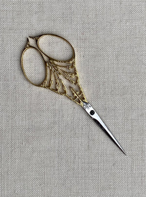 #64 Scissors - gold plated