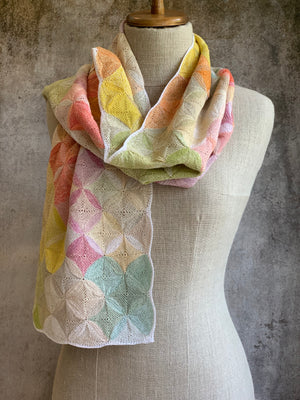 """Mix and Match"" Linen Scarf"