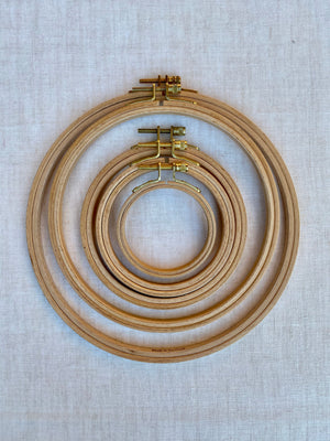 Edmunds Beech Embroidery Hoop - 3 inches