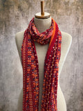 Variation Scarf - Rouge
