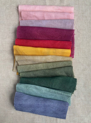 Hand Dyed Linen - Collection