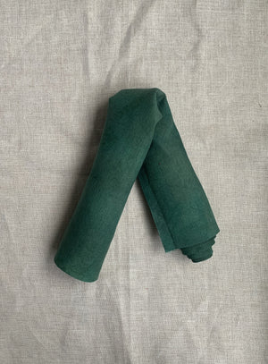 Hand Dyed Linen - Evergreen