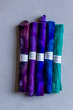 Velvet Collection - Blue, teal, violets