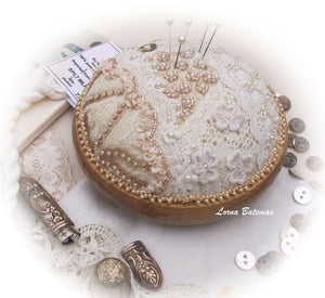 Vintage Lace and Pin Cushion Kit