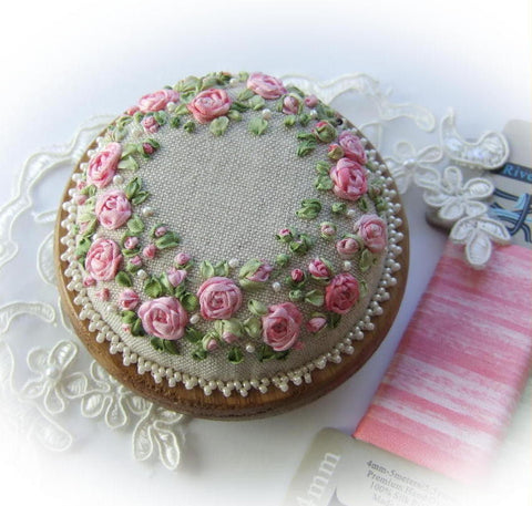 Roses and pearls kit - pink