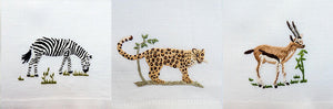 Three Miniature Safari Animals - Collection 2