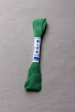 Sashiko thread #7 - Green