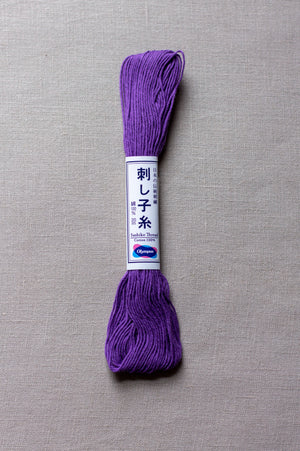 Sashiko thread #19 - Purple