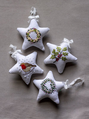 Christmas Ornament Kits (Set of 4)
