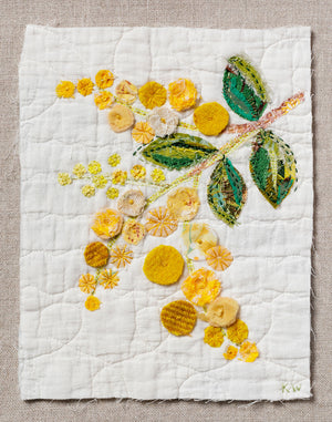 Wattle Slow Stitching Kit