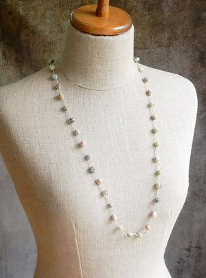 """Boules"" Linen Necklace"