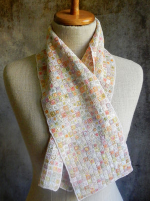 """Carres Lillput"" small linen scarf"
