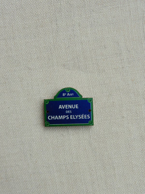 Champs Elysees   button