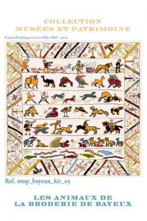 Bayeux Animals  - Kit and chart