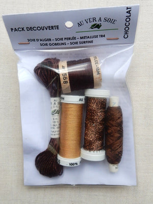 Discovery Pack - Soie d'Alger/Gobelins (Chocolate)