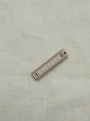 Ruler button - gray