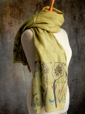 """Jungle Flower"" Scarf"