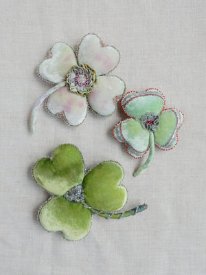 Clover Pin Cushion Kit (Greens)